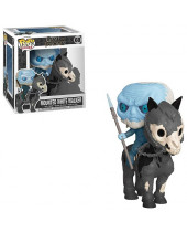 Pop! Rides - Game of Thrones - Mounted White Walker Super Sized 15 cm