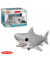 Pop! Movies - Jaws - Great White Shark with Diving Tank Super Sized 15 cm