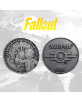 Fallout Collectable Coin Vault-Tec (silver plated)