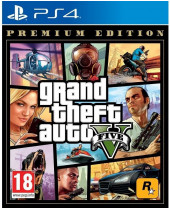 Grand Theft Auto 5 (GTA 5) Premium Edition (PS4)