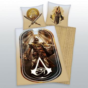Assassins Creed Origins 2 - posteľné obliečky 135 x 200 cm / 80 x 80 cm