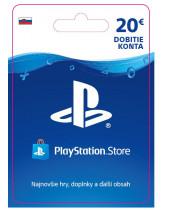 PlayStation Network Karta 20€ pre Slovenský PSN účet (digitálny produkt)