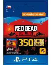 Red Dead Online - 350 Gold Bars (CZ PSN) (digitálny produkt)
