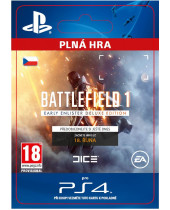 Battlefield 1 Early Enlister Deluxe Edition (CZ PSN) (digitálny produkt)