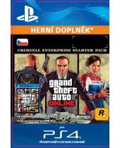 GTA Online - Criminal Enterprise Starter Pack (CZ PSN) (digitálny produkt)
