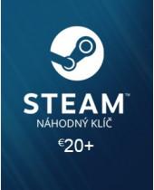 Náhodný Steam kľúč 20€