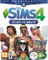 The Sims 4 - Život v meste DLC (PC) (digitálny produkt)