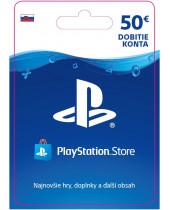 PlayStation Network Karta 50€ pre Slovenský PSN účet (digitálny produkt)