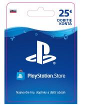 PlayStation Network Karta 25€ pre Slovenský PSN účet (digitálny produkt)
