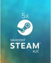 5x Náhodný steam kľúč
