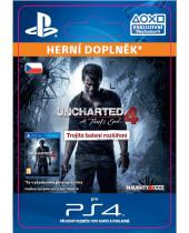 Uncharted 4 A Thiefs End - Triple Pack Expansion (CZ PSN) (digitálny produkt)