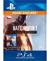 Battlefield 1 Premium Pass - (CZ PSN) (digitálny produkt)