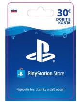PlayStation Network Karta 30€ pre Slovenský PSN účet (digitálny produkt)