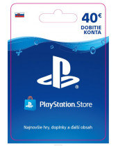 PlayStation Network Karta 40€ pre Slovenský PSN účet (digitálny produkt)