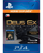 Deus Ex Mankind Divided - Season Pass (CZ PSN) (digitálny produkt)