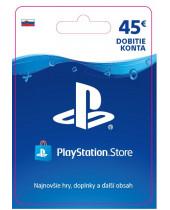 PlayStation Network Karta 45€ pre Slovenský PSN účet (digitálny produkt)