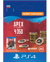 Apex Legends 4,000 +350 Bonus Apex Coins (SK PSN) (digitálny produkt)