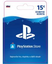 PlayStation Network Karta 15€ pre Slovenský PSN účet (digitálny produkt)