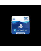 PlayStation Network Card (PSN Karta) 750 Kč (digitálny produkt)