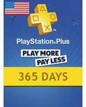 PlayStation Network Card (PSN) 365 Days (USA) (digitálny produkt)